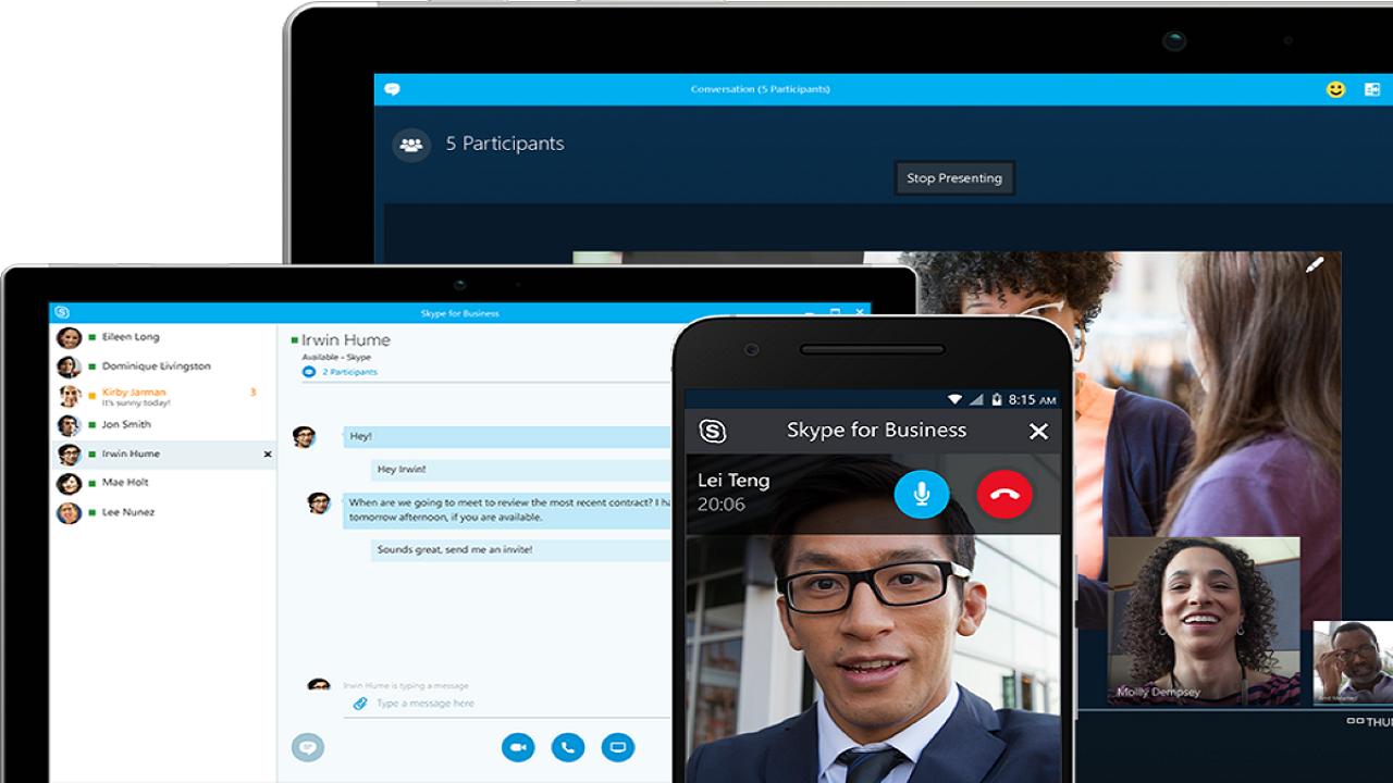 Skype: thực hiện các cuộc gọi video nhanh chóng