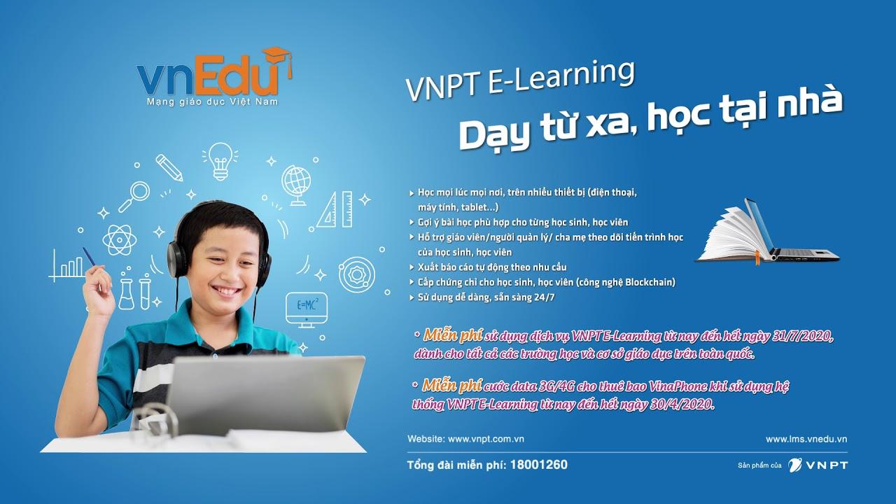 VNPT E-Learning - Lớp học số thời 4.0