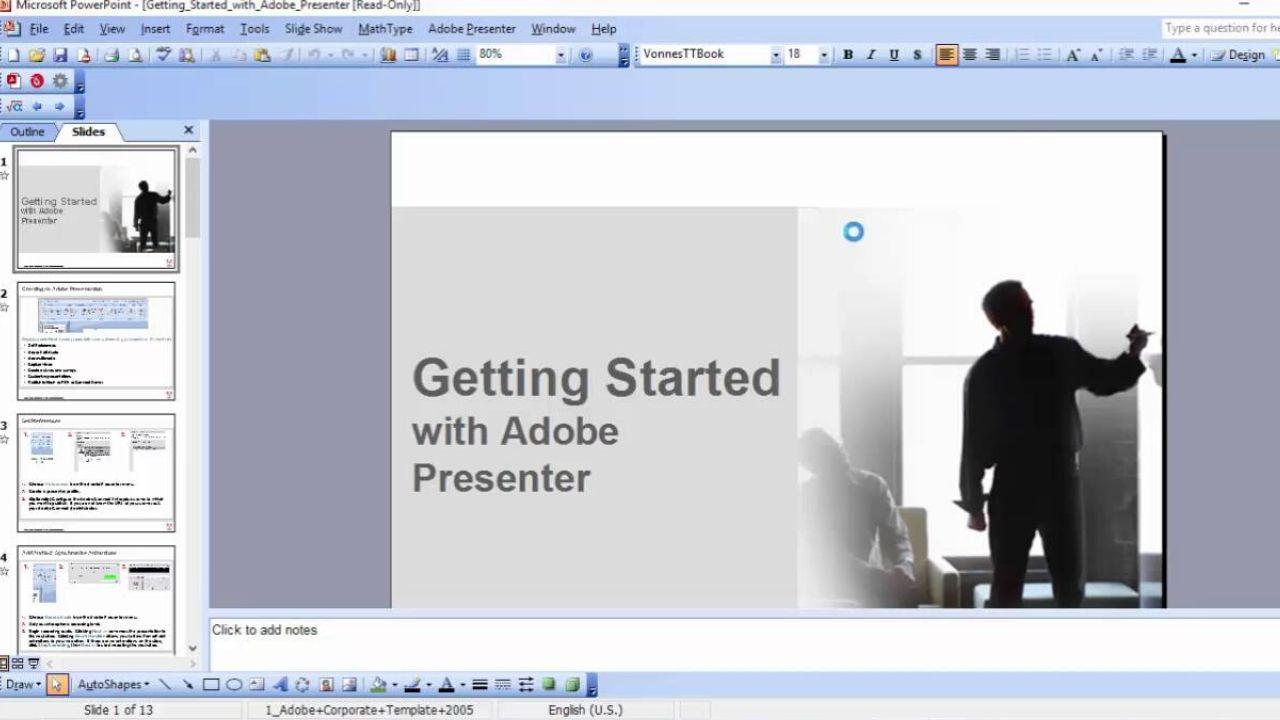 Adobe Presenter phần mềm thiết kế bài giảng chuyên nghiệp