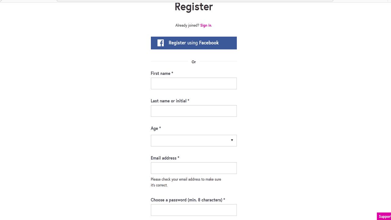 đăng ký tạo tài khoản học tại FutureLearn