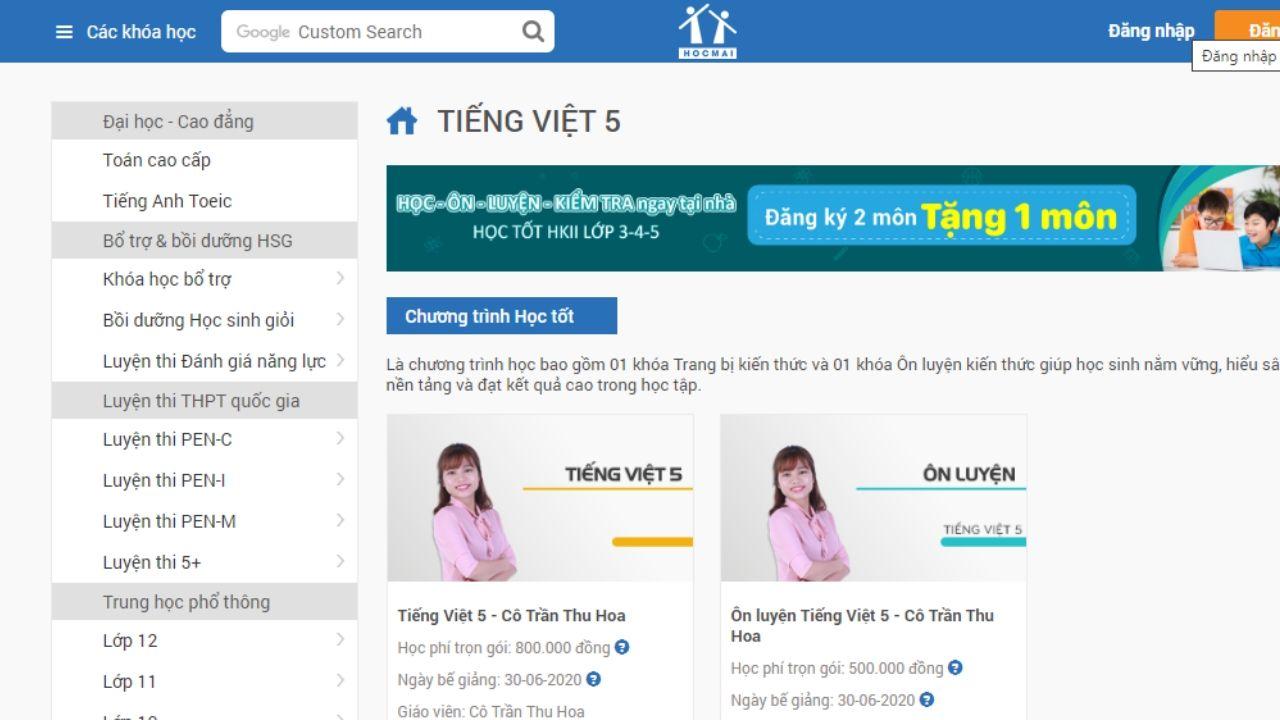hocmai.vn - diễn đàn học tập trực tuyến uy tín
