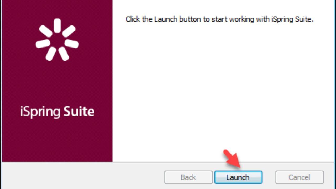 Bước 3: Chọn Launch để cài đặt chương trình