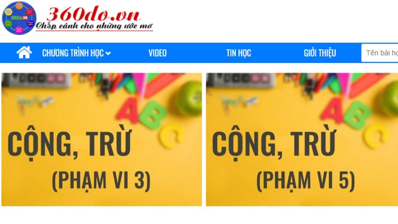 M.360do.vn- Website học online hàng đầu Việt Nam