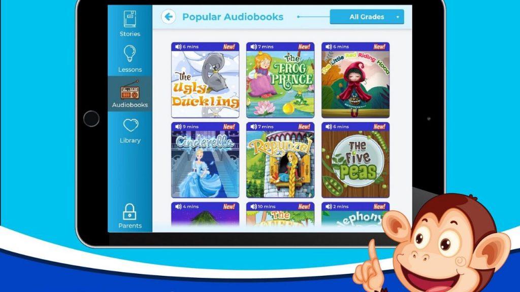 Ứng dụng học Tiếng Anh Monkey Stories xếp top 1 trên Google Play:
