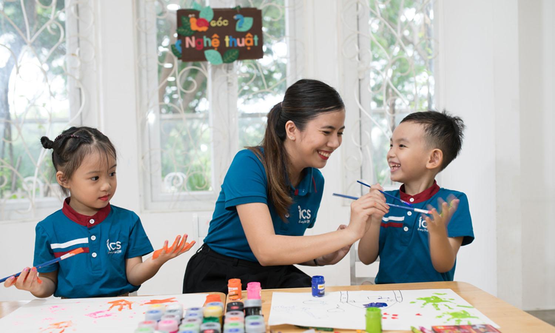 Trẻ được tham gia các CLB và được bảo mẫu chăm sóc chu đáo