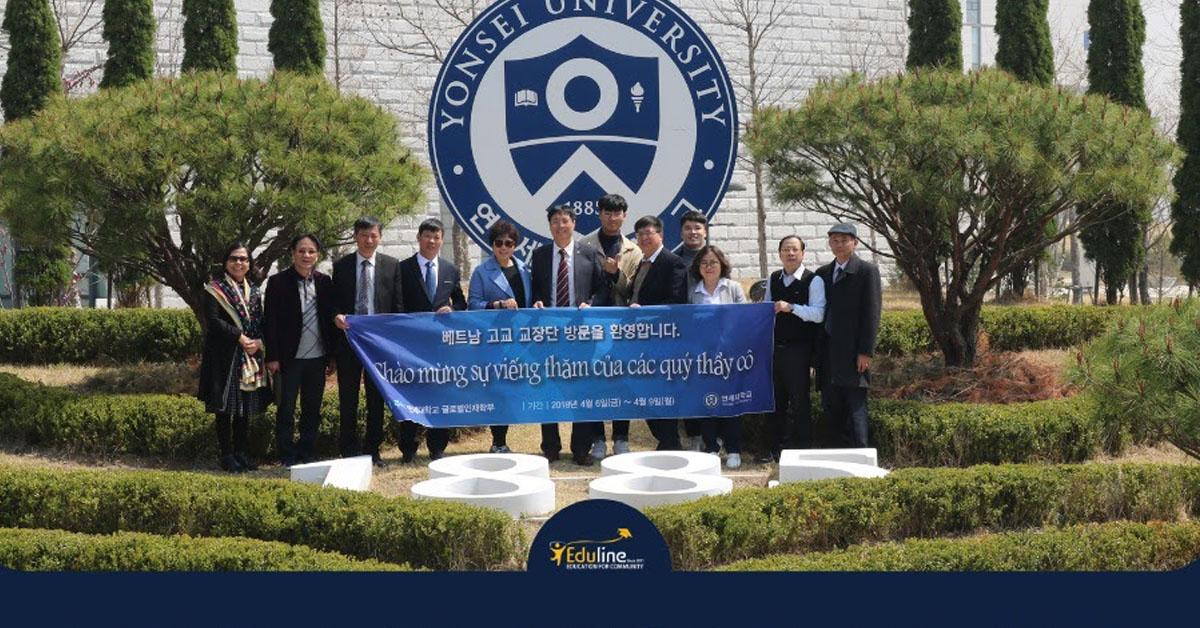 Eduline là partner của các Đại học lớn tại Hàn Quốc
