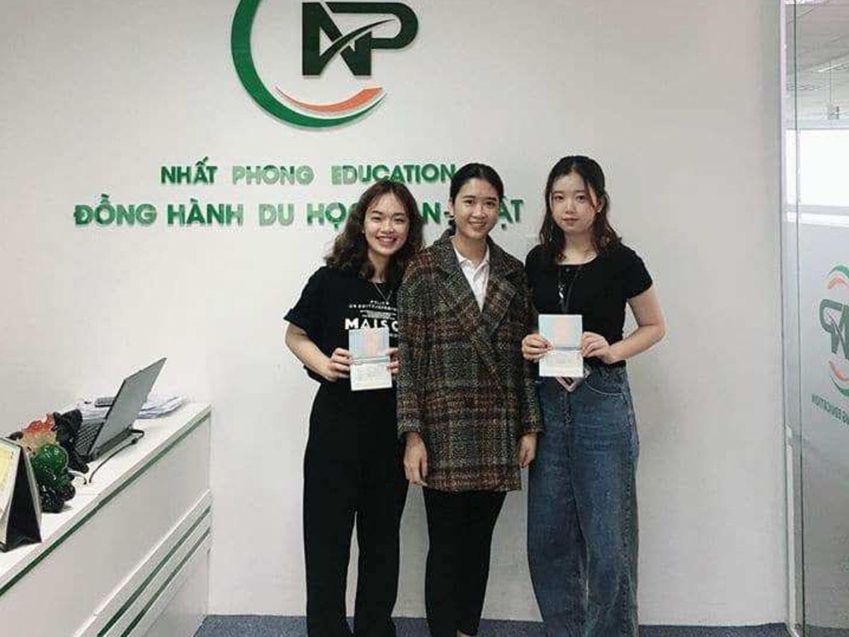 Học sinh của Nhất Phong thành công giành được visa đi Hàn