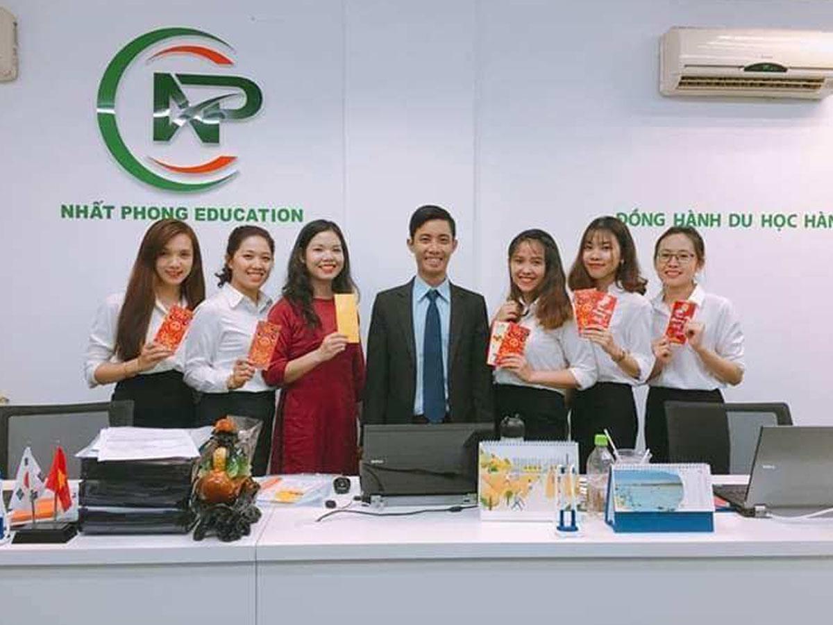 Nhất Phong là trung tâm tư vấn du học Hàn Quốc tại Hà Nội uy tín